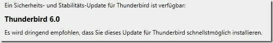 thingybob-thinderbird-6-update-hinweis
